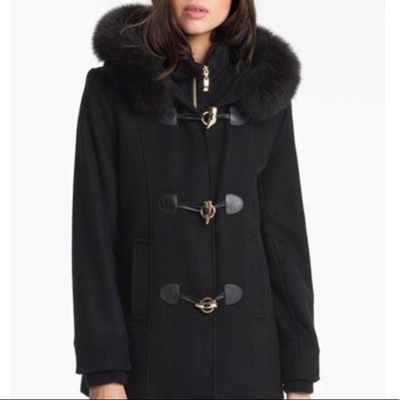272d6c87dcb George Simonton Jackets   Blazers - George Simonton Wool and Fox Fur Coat